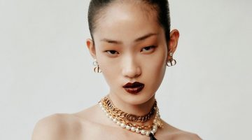 Hyun Ji Shin Models Dior Pre-Fall Styles for Vogue Korea