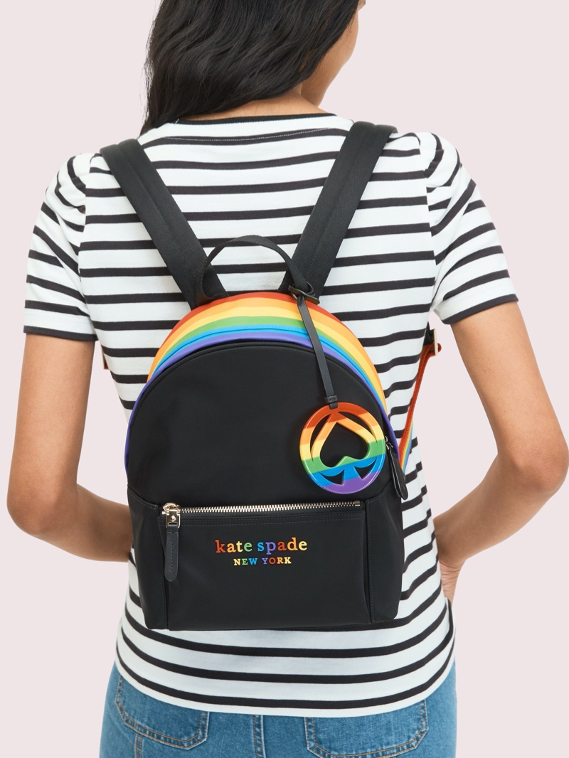 Kate Spade Rainbow Backpack $198