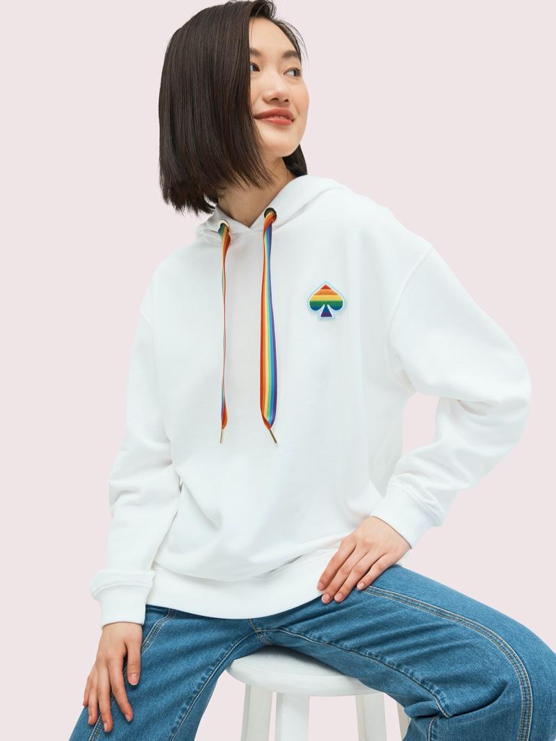 Kate Spade Rainbow Hoodie $168