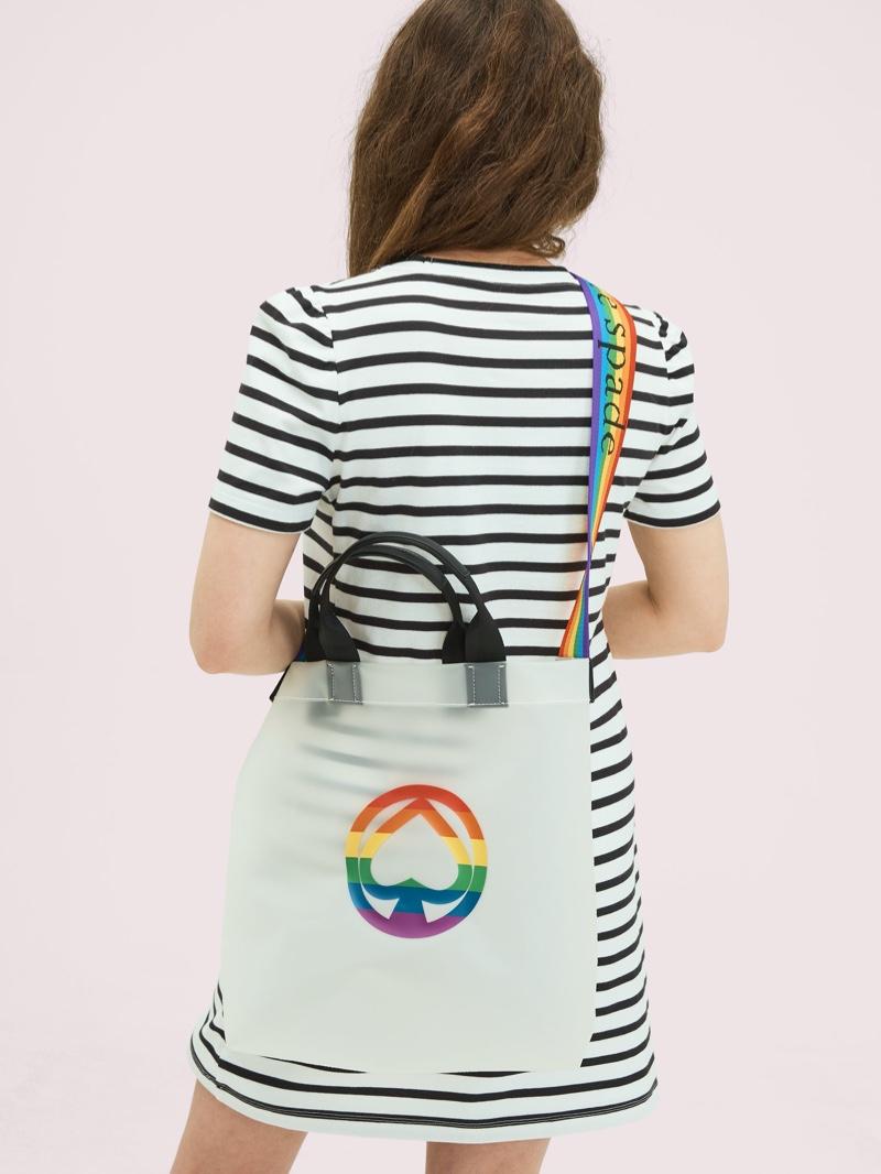 Kate Spade Rainbow Tote $128
