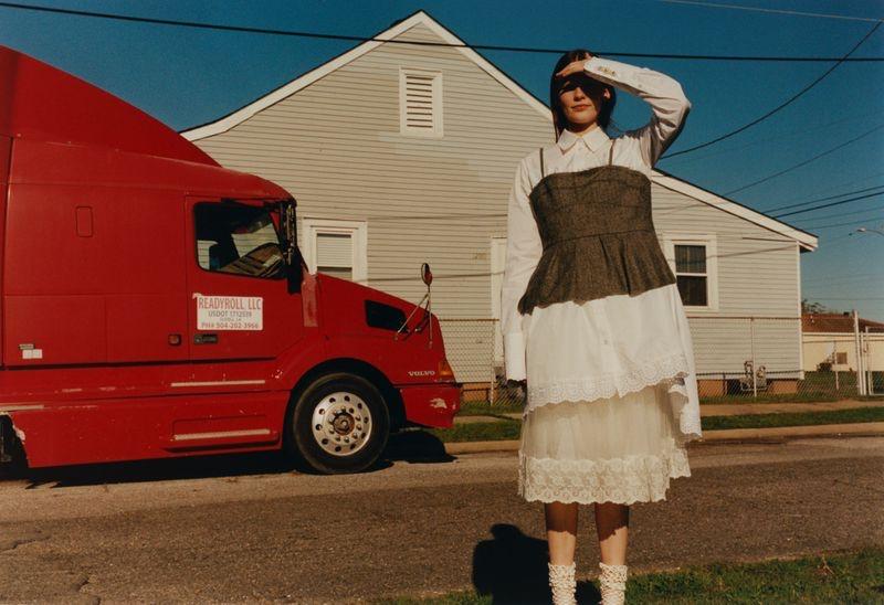 Kristin Lilja Poses in Americana Fashion for Vogue Ukraine