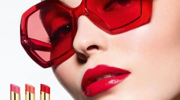 Lily-Rose Depp is Red-Hot in Chanel 'Rouge Coco Flash' Ads