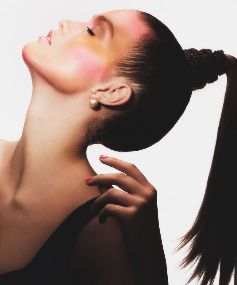 Luna Bijl Wears Retro Beauty for Dior Magazine