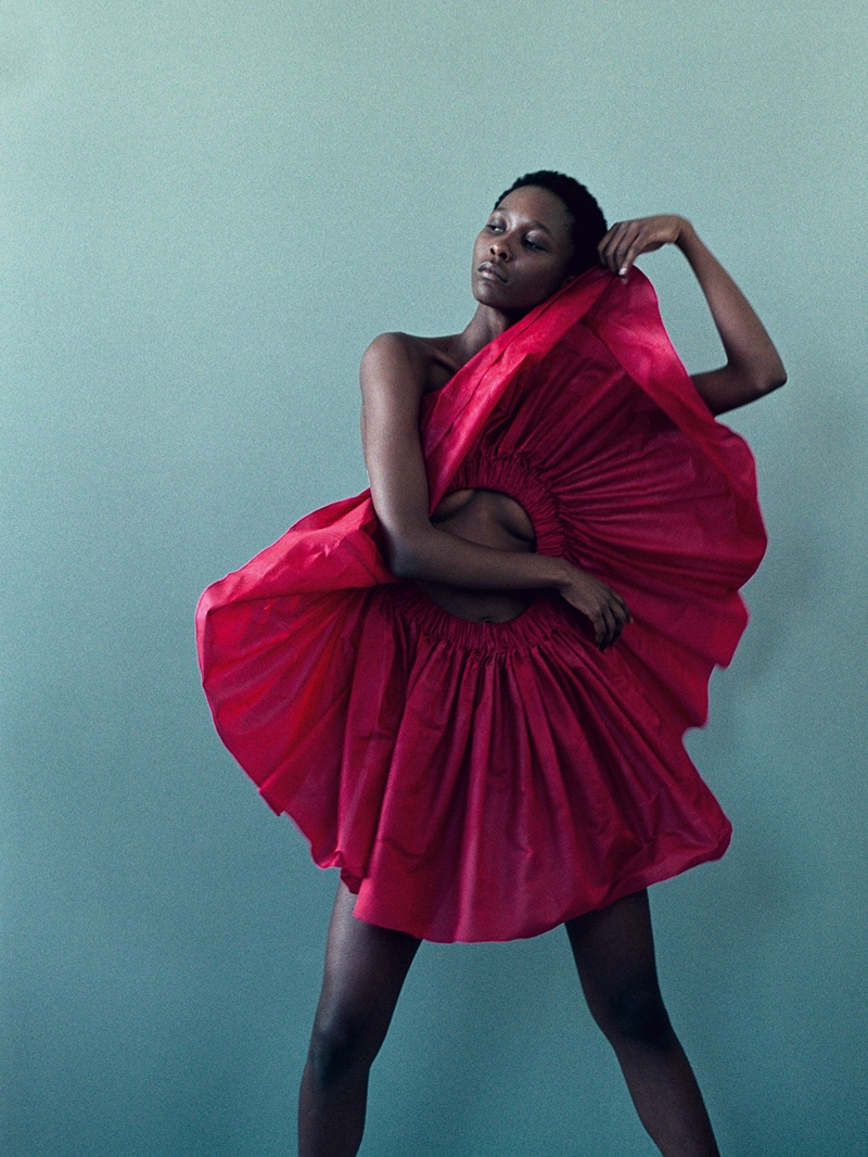 Portrait: Mahany Pery Poses for Paul Morel