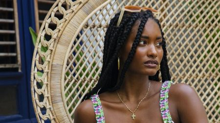 Melodie Monrose Charms in For Love & Lemons Summer '20 Swim