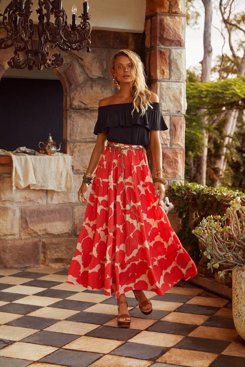 Model Victoria Germyn appears in Mister Zimi Casa summer 2020 campaign.