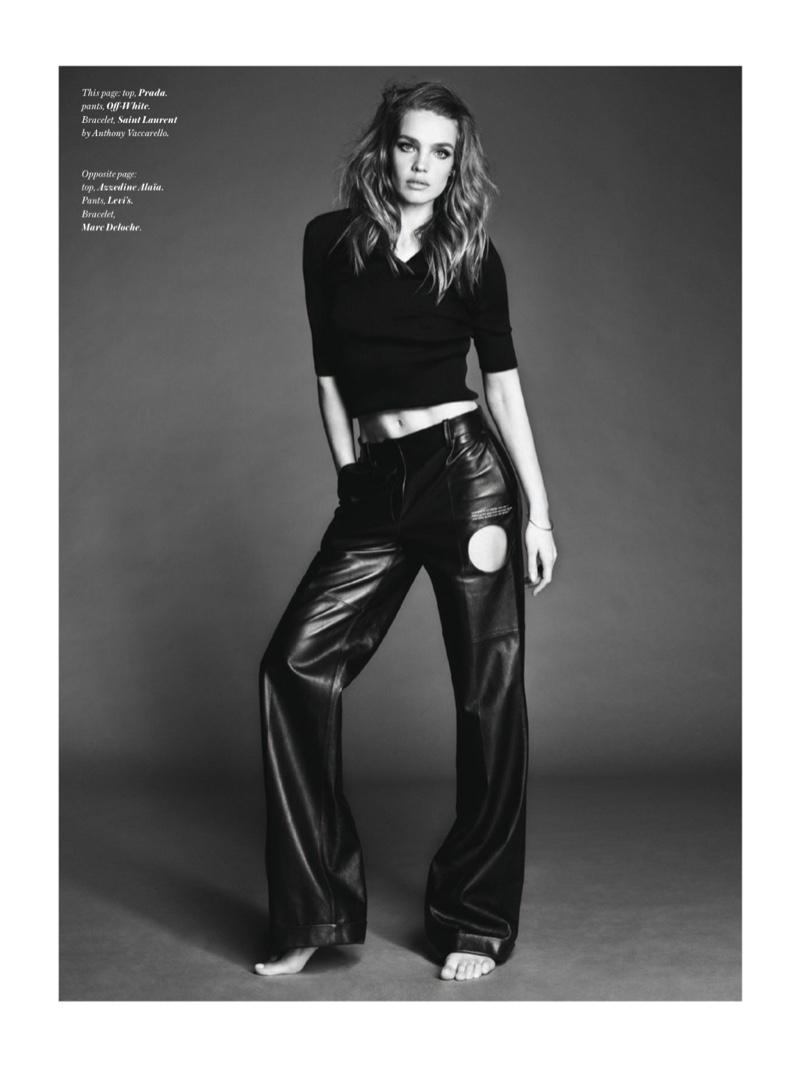 Natalia Vodianova Embraces Glamorous Looks for Vogue Hong Kong