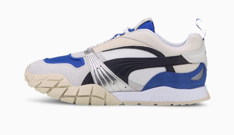 PUMA Kyron Awakening Sneaker in White/Dazzling Blue $90