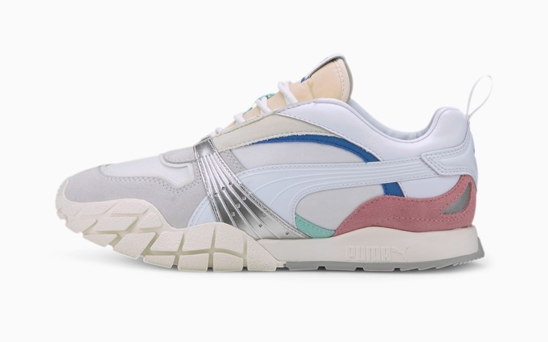 PUMA Kyron Awakening Sneaker in White/Marshmallow $90
