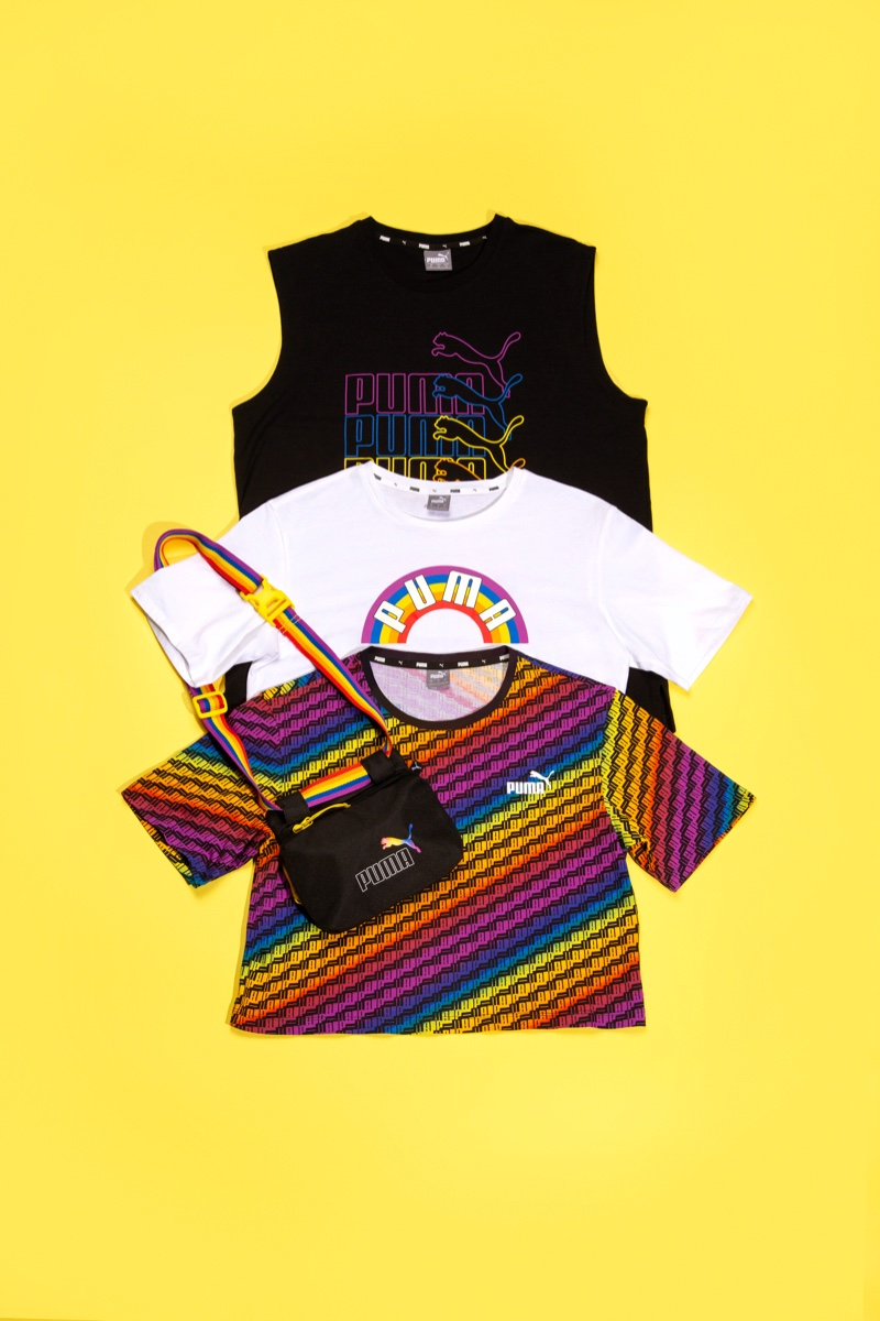Rainbow style stands out in PUMA Pride 2020 pack.
