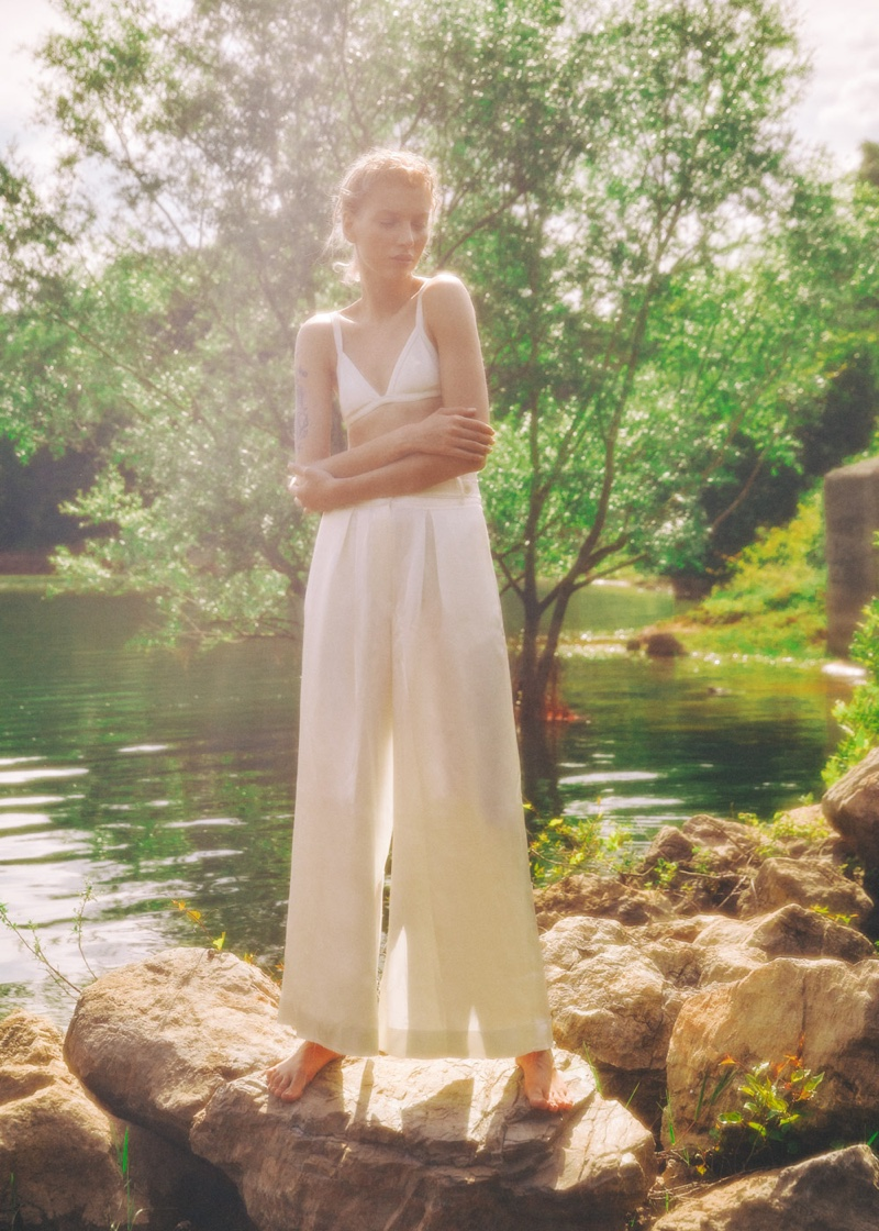 Rita Starostina Embraces Outdoor Style in Marie Claire Turkey