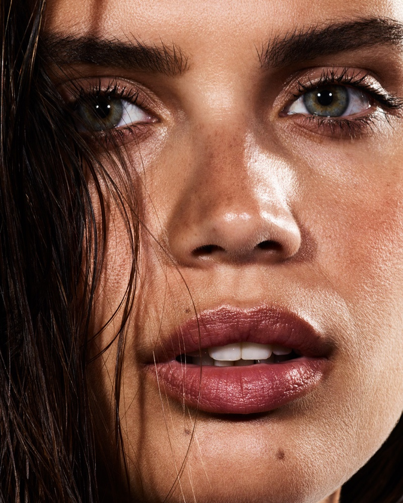 Sara Sampaio Turns Up the Glam Factor for Violet Grey