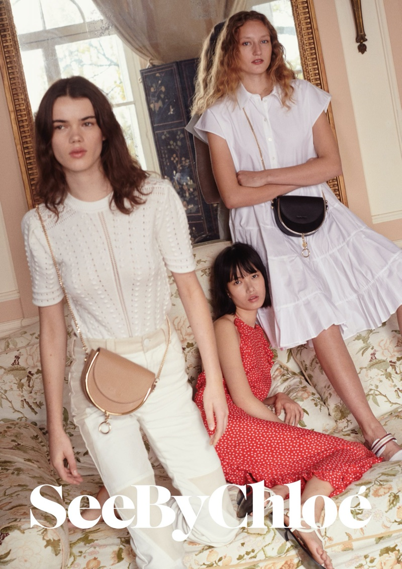 An image from See by Chloe's summer 2020 advertising campaign.