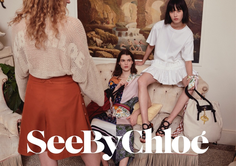 See by Chloe launches spring-summer 2020 campaign.