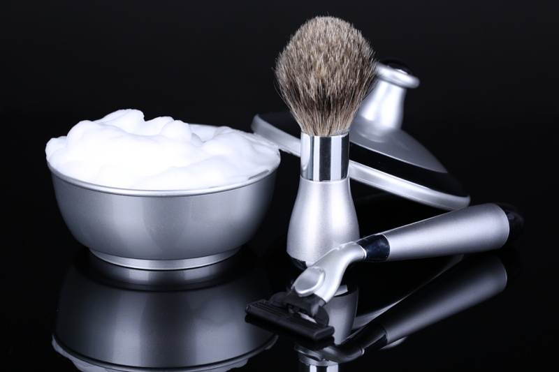 Shaving Kit Cream Brush Razor