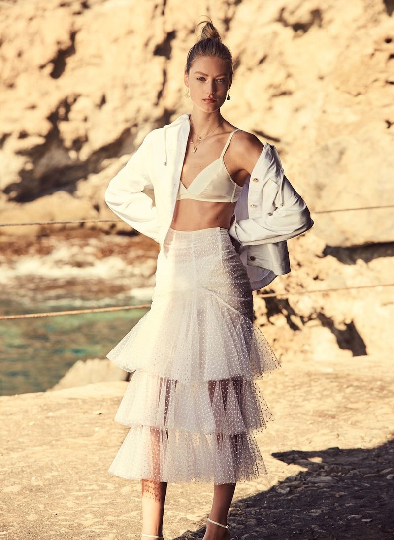 Susanne Knipper Poses in Elegant Looks for Grazia Italy