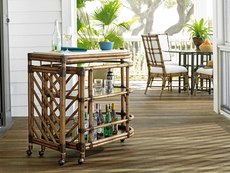 Tommy Bahama Twin Palms Cable Beach Bar Set