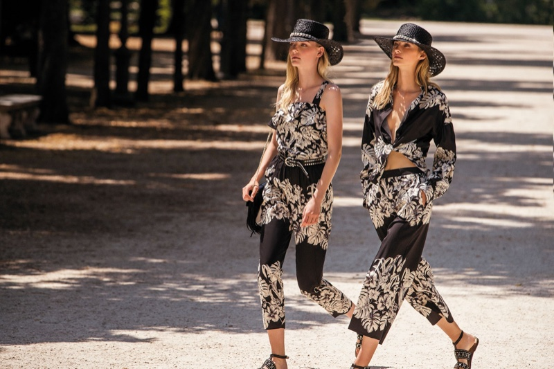 Boho style stands out in Twinset spring-summer 2020 campaign.