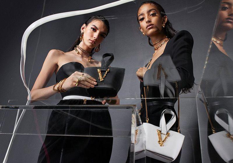 Versace unveils Virtus handbag summer 2020 campaign.