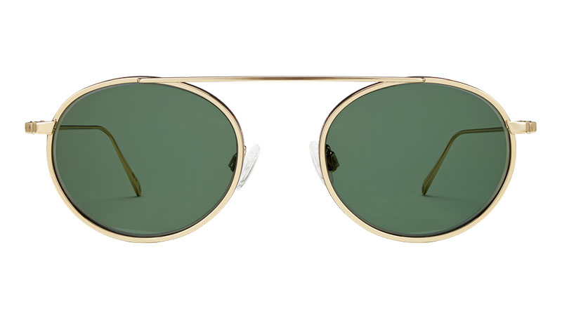 Warby Parker Corwin Sunglasses in Gold Whiskey Tortoise $195
