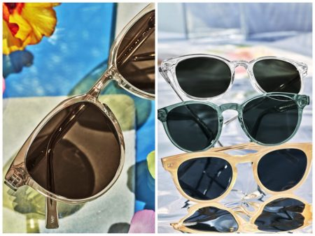 Warby Parker crystal sunglasses
