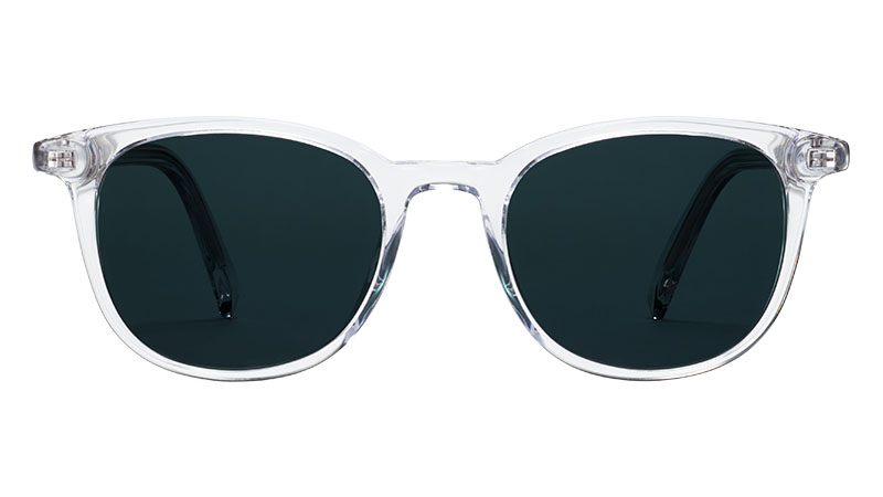 Warby Parker Durand Sunglasses in Crystal $95