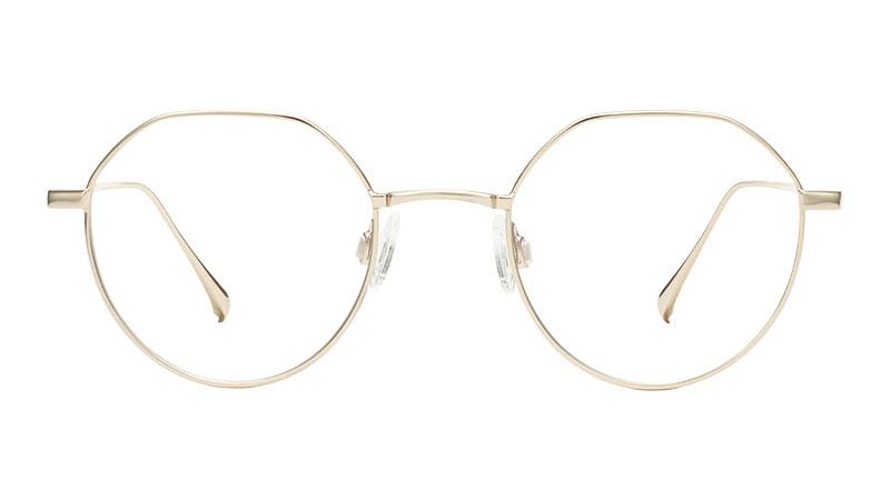 Warby Parker Gavin Glasses in Polished Gold $145