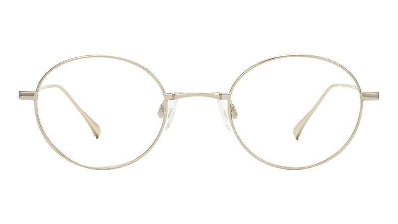 Warby Parker Hammett Glasses in Polished Gold $145