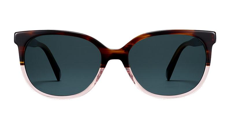 Warby Parker Raglan Sunglasses in Tea Rose Fade $95