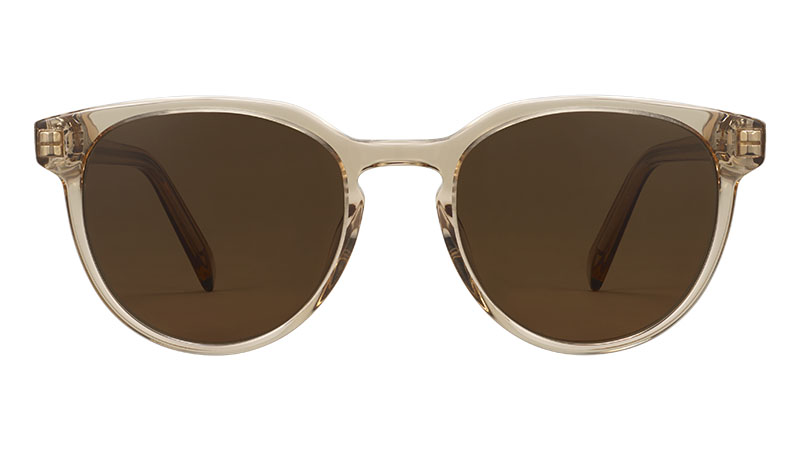 Warby Parker Wright Sunglasses in Nutmeg Crystal $95