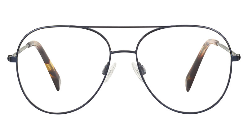 Warby Parker York Glasses in Brushed Navy $145