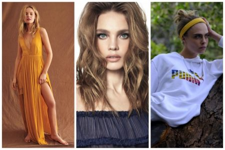 Week in Review   Natalia Vodianova's New Cover, Cara Delevingne for PUMA Pride, June Style Guide + More