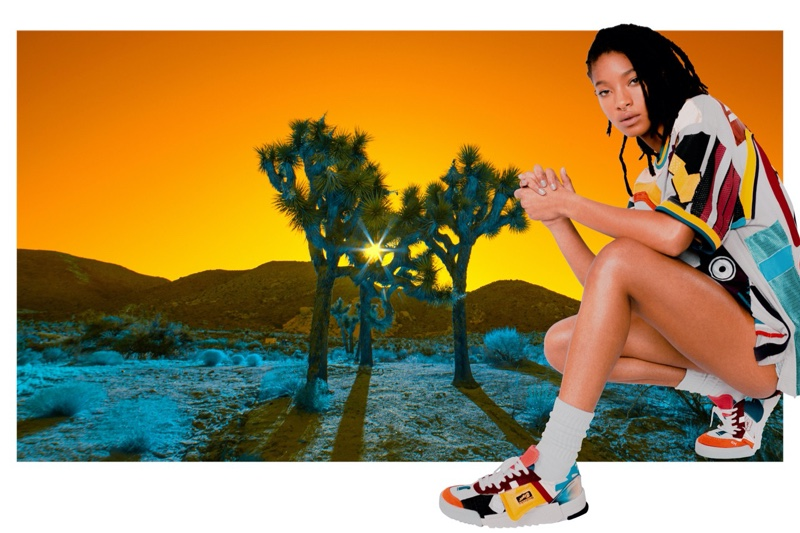 Onitsuka Tiger unveils fall-winter 2020 campaign with Willow Smith.