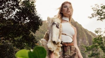 Exclusive: Brittan Byrd by IJfke Ridgley in 'Welcome to the Jungle'