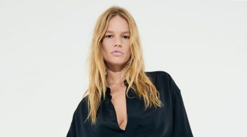 Anna Ewers Strikes a Pose in Bottega Veneta for 032c