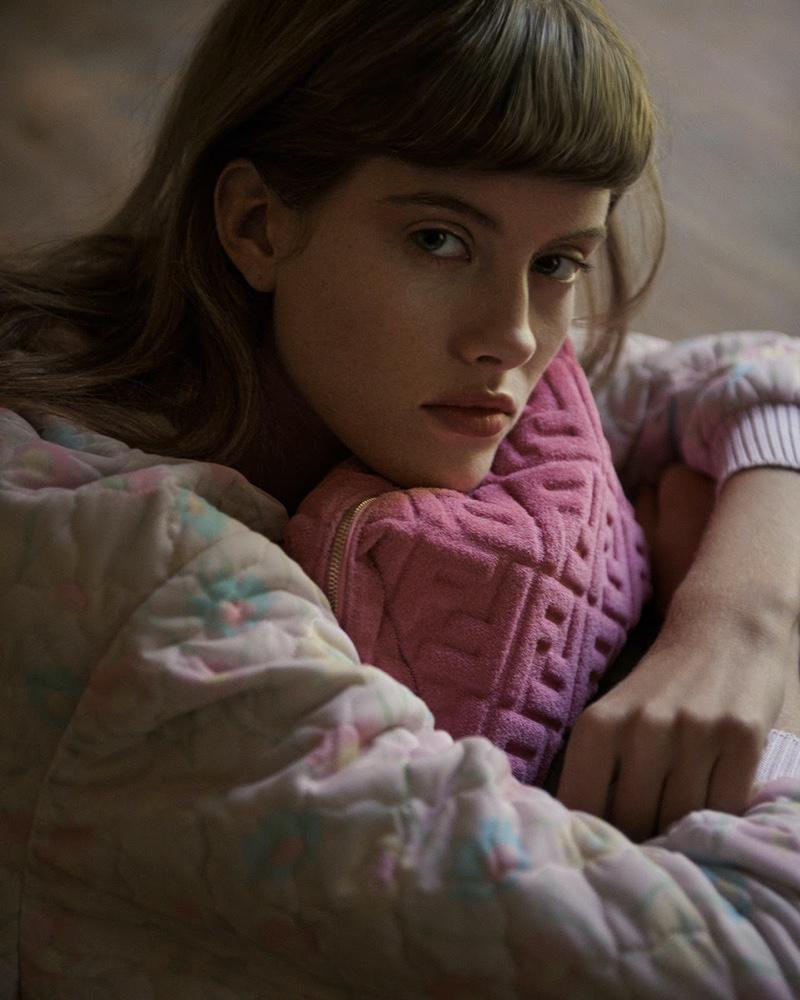 Bara Podzimkova Graces the Pages of Vogue Ukraine
