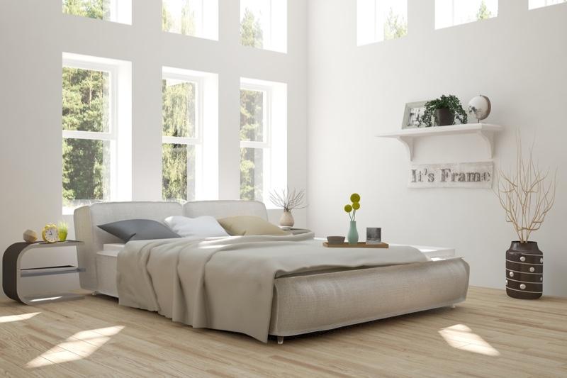 Bedroom Minimal Lifestyle Windows Design Interior