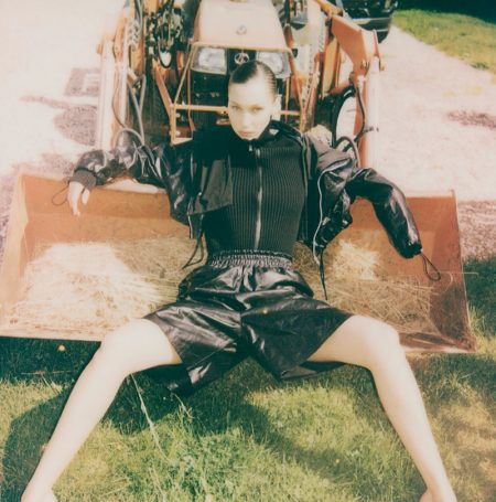 Bella Hadid Fronts Polaroids Captured by Sister Gigi for i-D