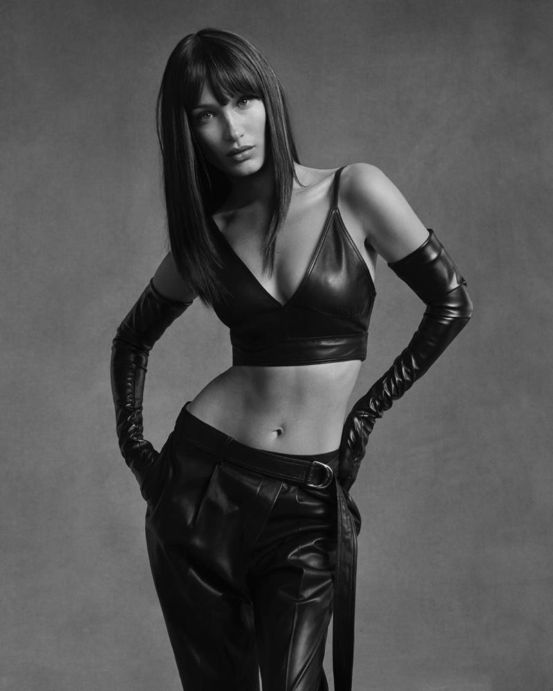 Bella Hadid stars in Helmut Lang pre-fall 2020 campaign.