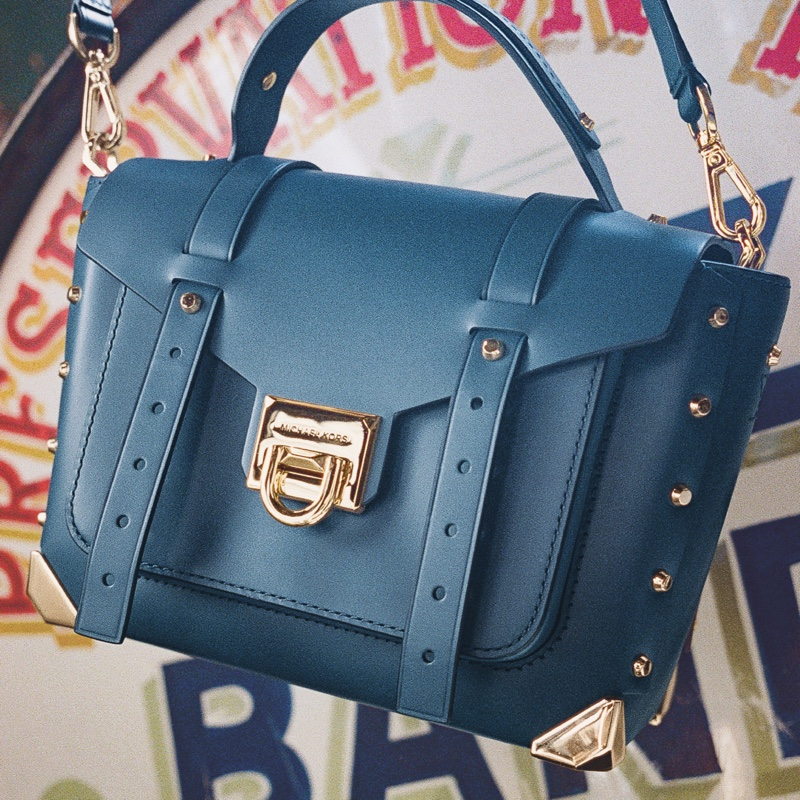 Handbags stand out in MICHAEL Michael Kors editorial.