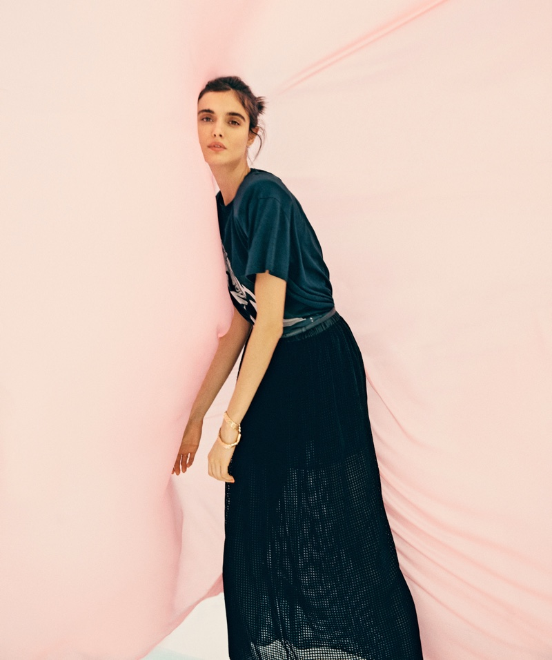 Blanca Padilla Poses in Chic Looks for S Moda
