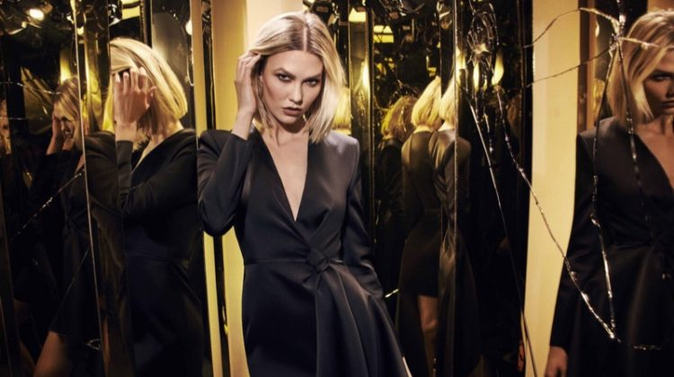 Karlie Kloss appears in Carolina Herrera Good Girl Supreme fragrance campaign.