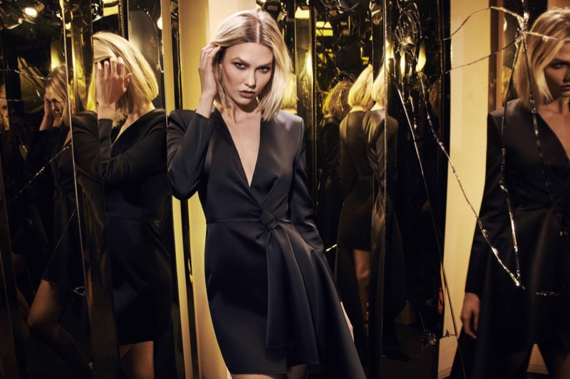 Karlie Kloss appears in Carolina Herrera Good Girl Supreme fragrance campaign.