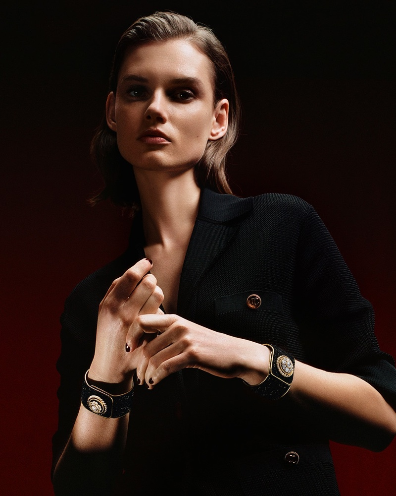 Chanel launches Mademoiselle Privé Bouton campaign.