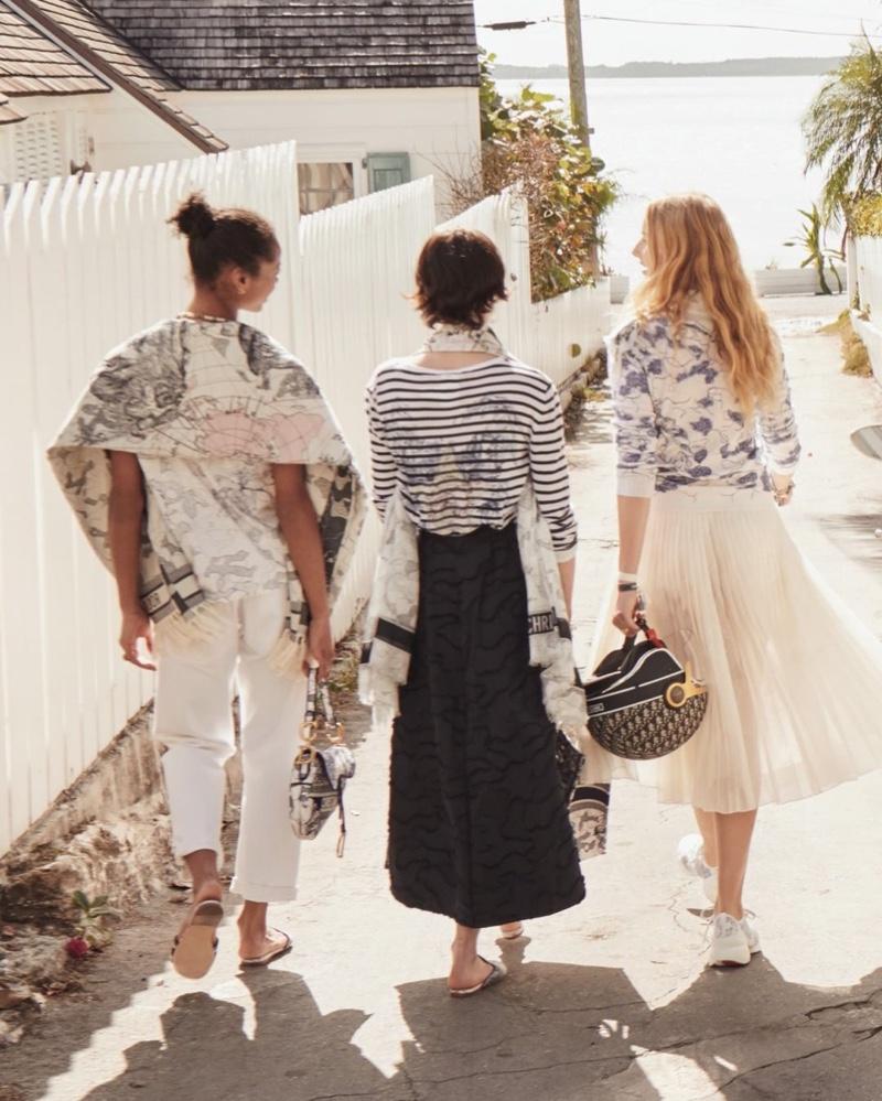 Dior launches Dioriviera fall 2020 campaign.