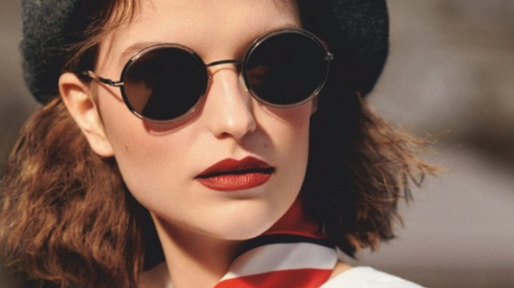 Emilie Ostbjerg Wears French Girl Beauty for ELLE Denmark