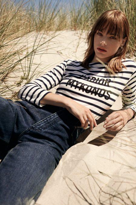 Estella Boersma Models Dior Getaway Looks for Harper's Bazaar Greece