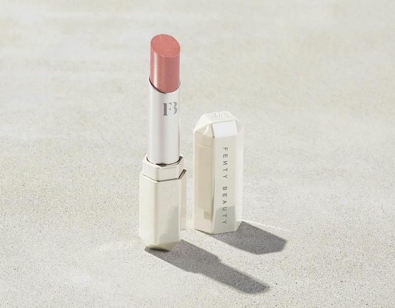 Fenty Beauty Slip Shine Sheer Shiny Lipstick in Glazed $22