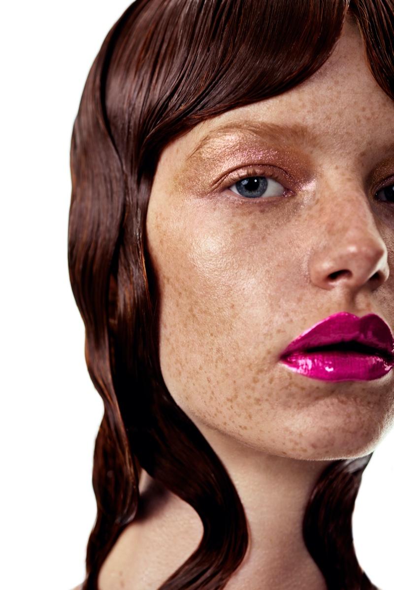 Flora Arn Models Bold Beauty for Cosmopolitan Spain