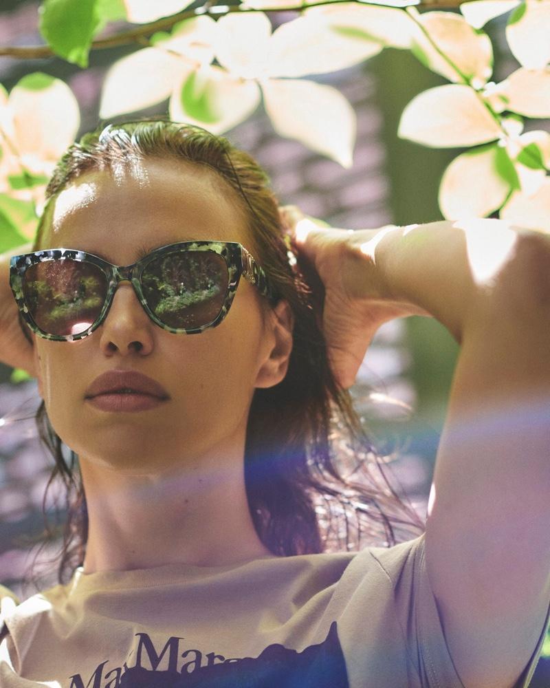 Max Mara unveils its summer 2020 sunglasses campaign.